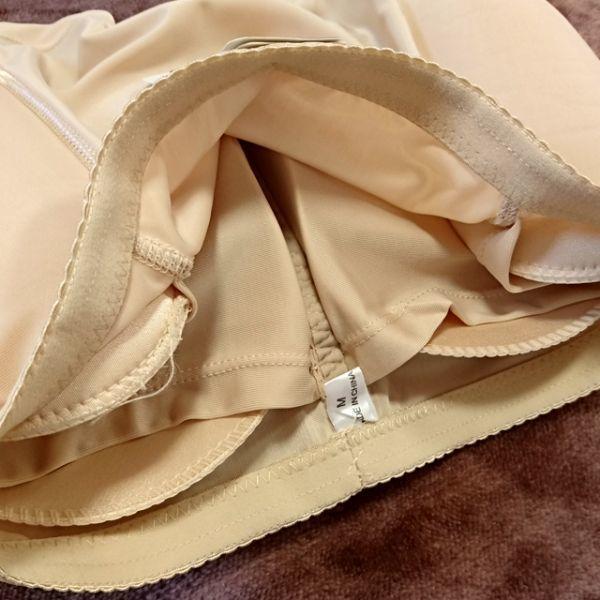 コスプレ体型補正インナー3.5点セット:黒【80C・L・XL】シリコンバスト人工乳房ポケットブラ・ウエストニッパー・ヒップパッドショーツ_画像7