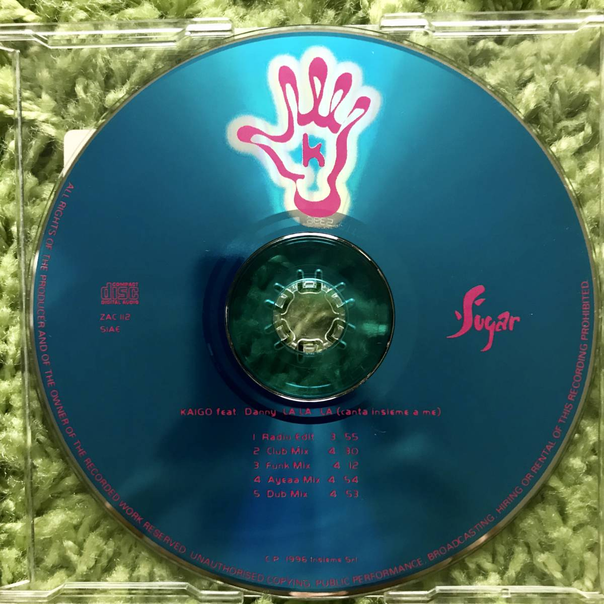 【CD Single】Kaigo feat.Danny/La La La(Canta Insieme A Me) Italy盤