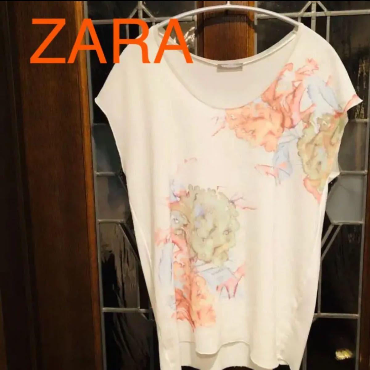 ZARA カットソー S