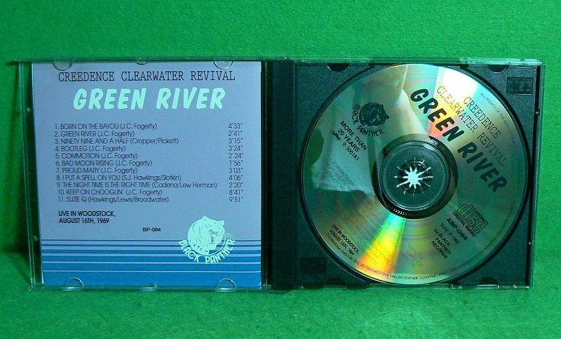 ★CD★CCR★GREEN RIVER★LIVE IN Woodstock, 1969★