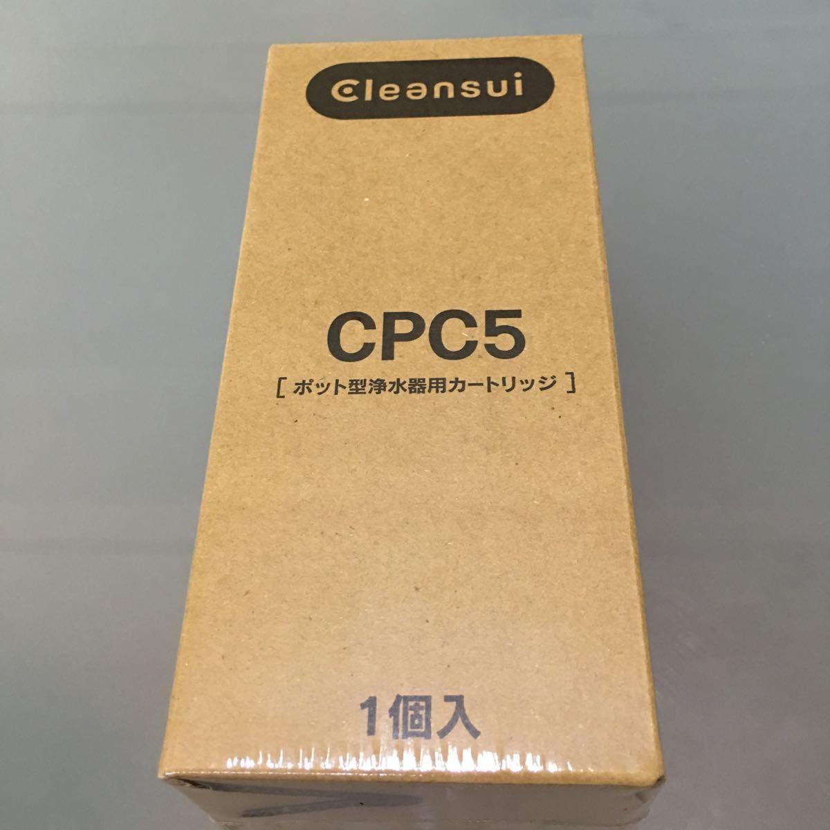 Cleansui ポット型浄水器用カートリッジ CPC5 クリンスイ 新品未使用_画像1