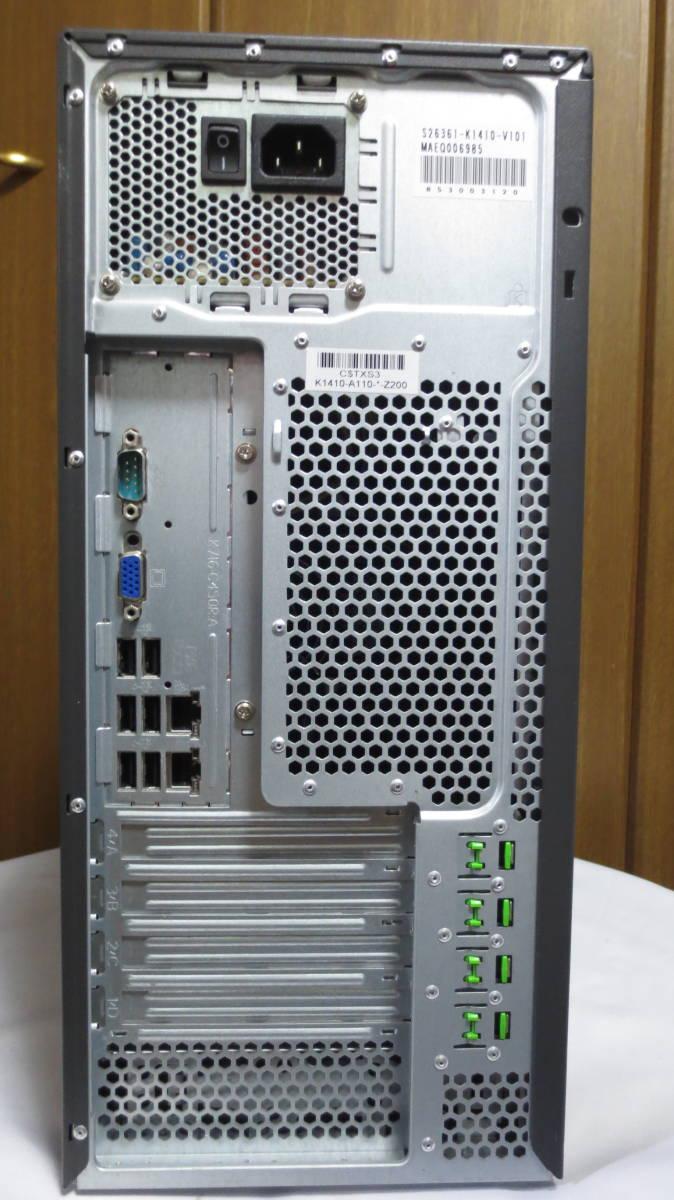 【ジャンク】Fujitsu サーバーデスクトップパソコン PRIMERGY TX100S3 富士通_画像7