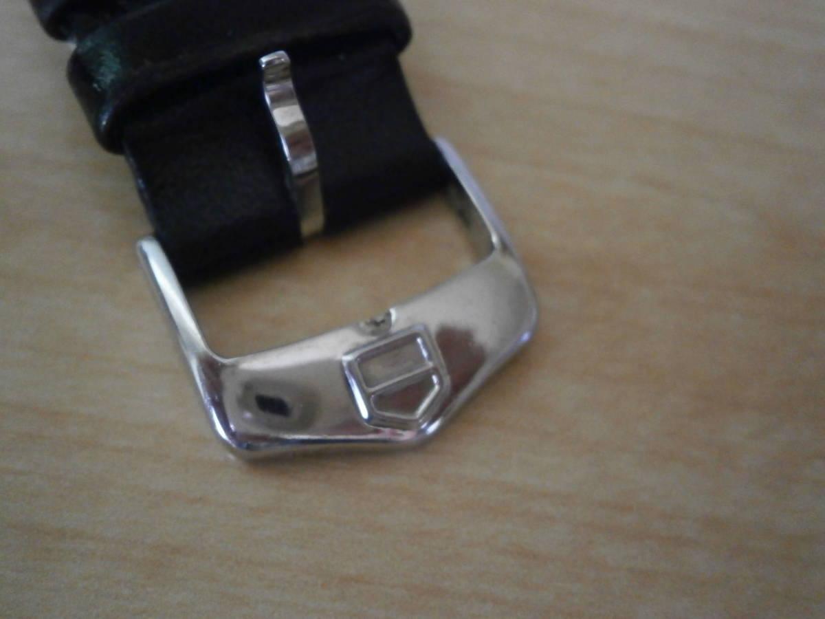 タグホイヤー TAG Heuer 腕時計 クォーツ プロフェッショナル200・革ベルトの難あり。_画像8