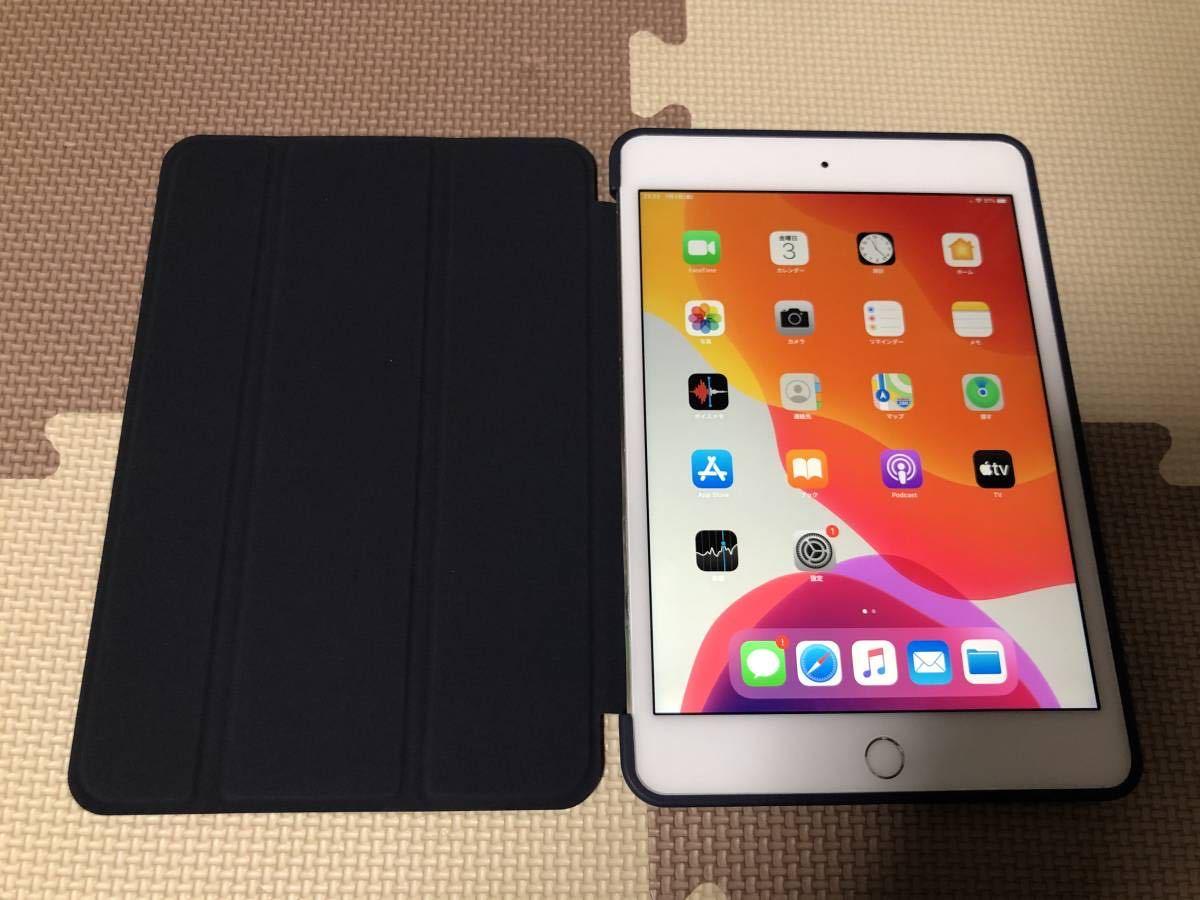 iPad mini4 WiFi+Cellular(simフリー) 64GB 充電219回 良品 初期保証有 送料無料 1円スタート ①