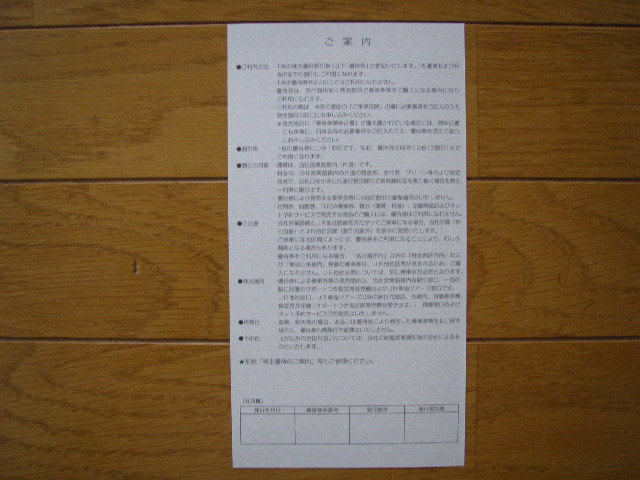 JR東海 株主優待割引券 1枚 2020.6/1~2021.5/31まで有効_画像2