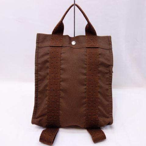 Рюкзак Hermes ale line коричневый женский рюкзак рюкзак HERMES R71-6 Hermes & bag, bag & ale line