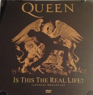 クイーン QUEEN Is This the Real Life? 日本放送版 DVD r ボヘミアン・ラプソディ フレディ・マーキュリー Freddie Mercury_画像1