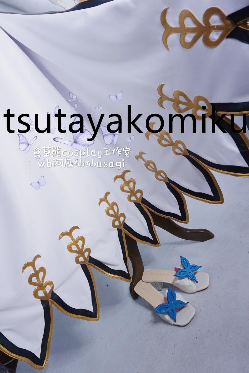 豪華版 グランブルーファンタジー ナルメア コスプレ衣装 水着 「靴 ウィッグ 別売り」 コスチュームcosplay_画像4