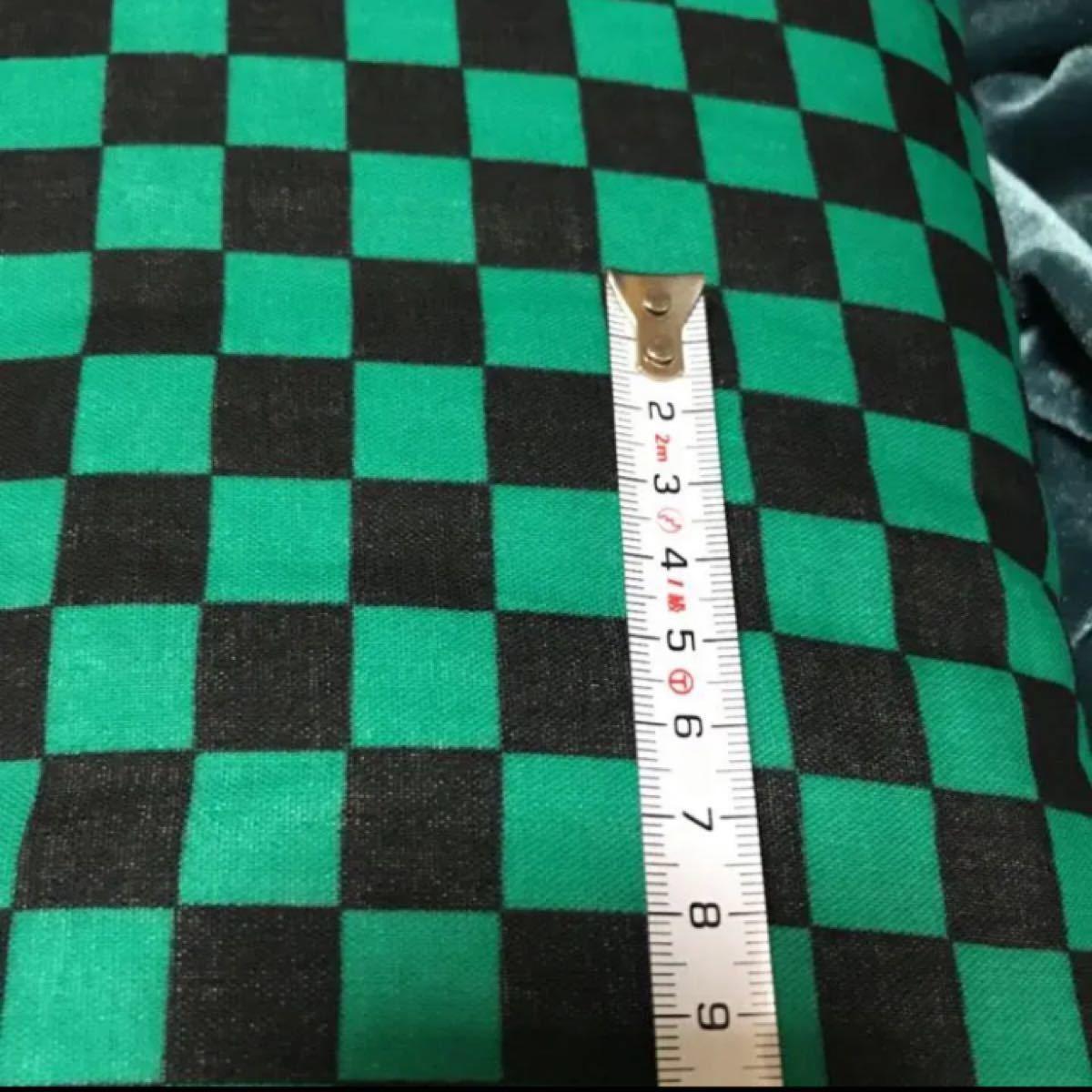 鬼滅の刃 ハギレ ダブルガーゼ 布 生地 約50×108センチ