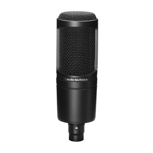 ブラック audio-technica オーディオテクニカ コンデンサーマイクロホン AT2020 動画配信・宅録・ポッドキャス_画像1