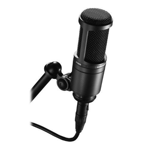 ブラック audio-technica オーディオテクニカ コンデンサーマイクロホン AT2020 動画配信・宅録・ポッドキャス_画像3