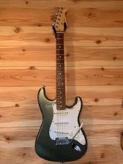 Fender USA American Standard Stratocaster Jade Pearl Metallic 2012