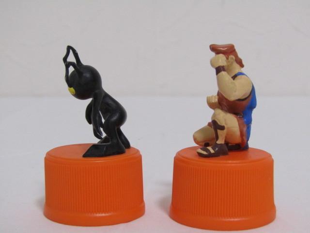 ES-11560-08 キングダムハーツ ボトルキャップフィギュア 三ツ矢サイダー&バヤリース 2002年キャンペーン品 6点_画像9