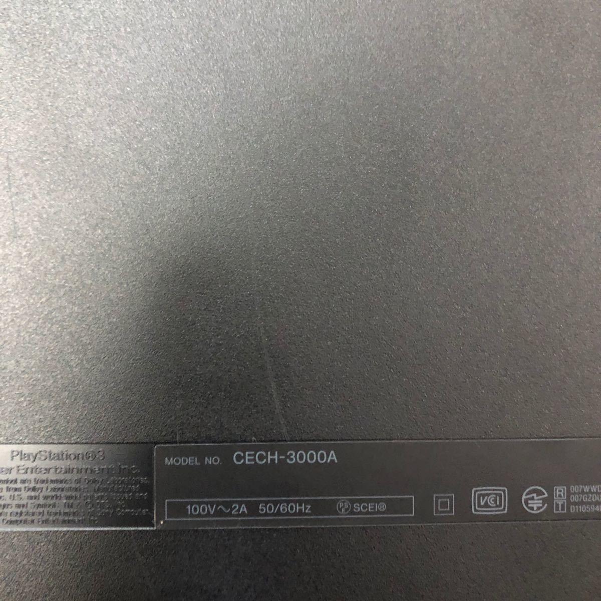 動作確認済 PlayStation3 カセット3本付 グラセフ4.5