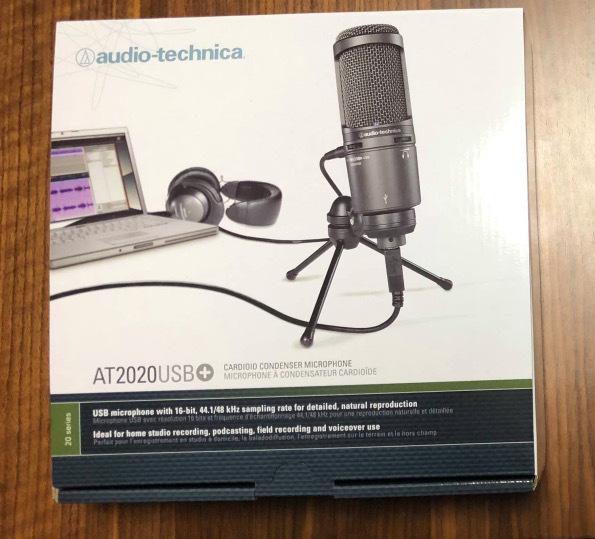 【美品】audio-technica オーディオテクニカ USBマイクロホン AT2020USB+_画像1
