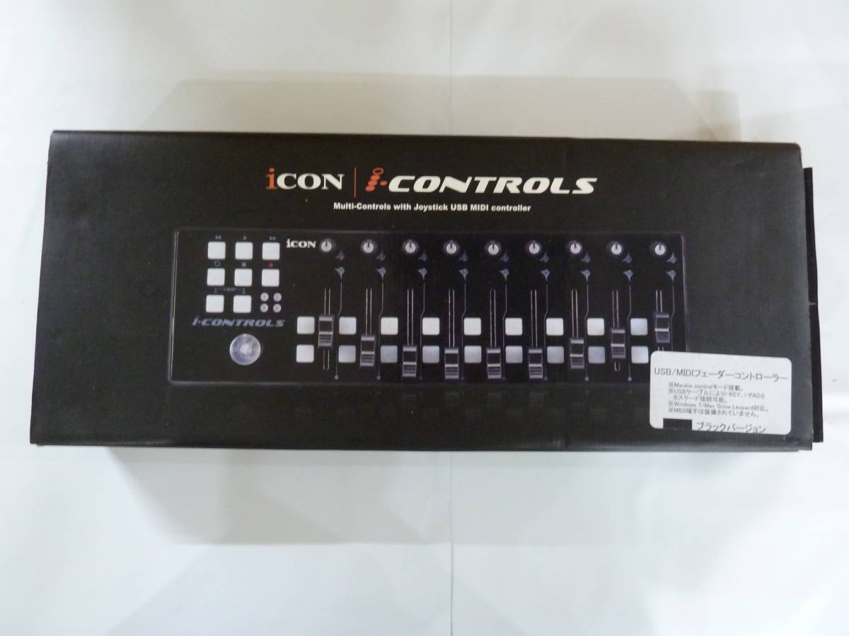 iCON i-CONTROLS USB/MIDIフェーダーコントローラー ブラック 【534】_画像1