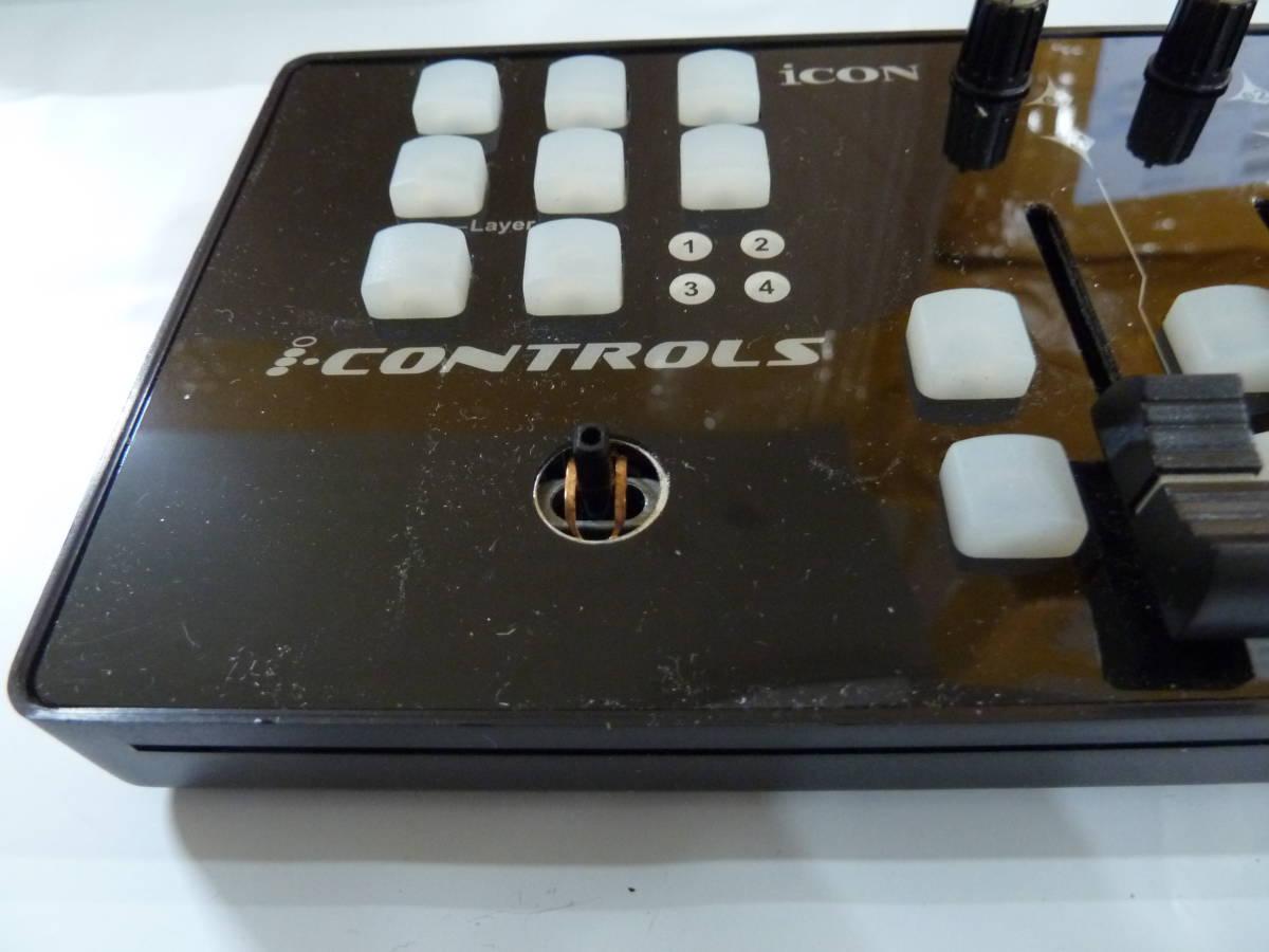 iCON i-CONTROLS USB/MIDIフェーダーコントローラー ブラック 【534】_画像6