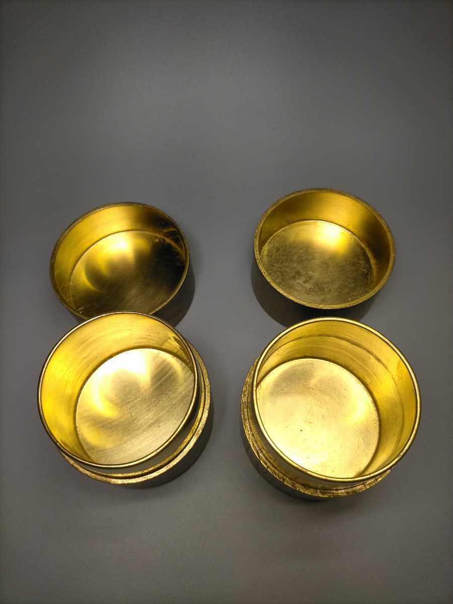 茶道具 茶入 木製 まとめて 2点 天然木 桑 茶器 木工芸 現代工芸 桑棗 煎茶道具 茶筒 木彫_画像5