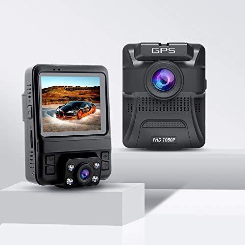 2020最新版 車内+車外カメラ搭載 ドライブレコーダー 前後カメラ 赤外線暗視ライト 1080PフルHD高画質 170度広角視野 LED信号機対策 操作簡_画像9