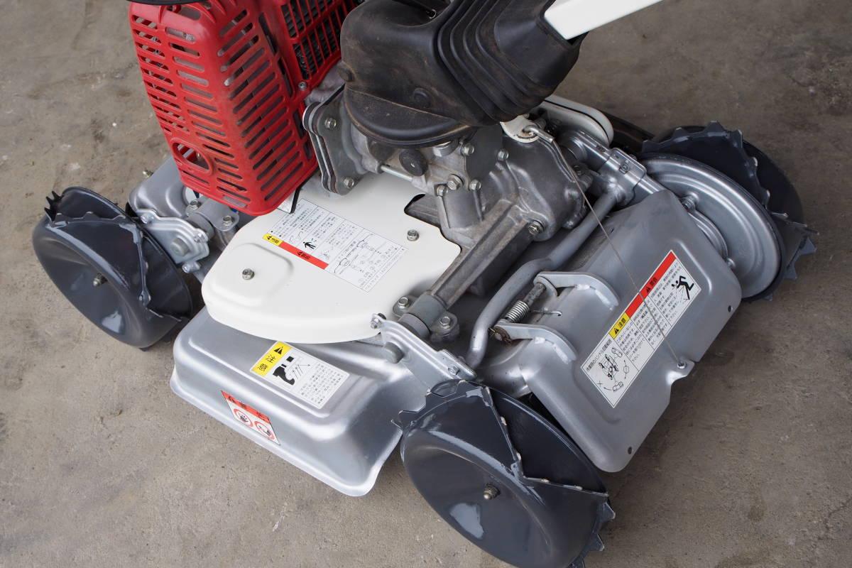 中古 共立 自走式傾斜地草刈機 4WD スパイダーモアー AZ851 整備済 取説付_画像3