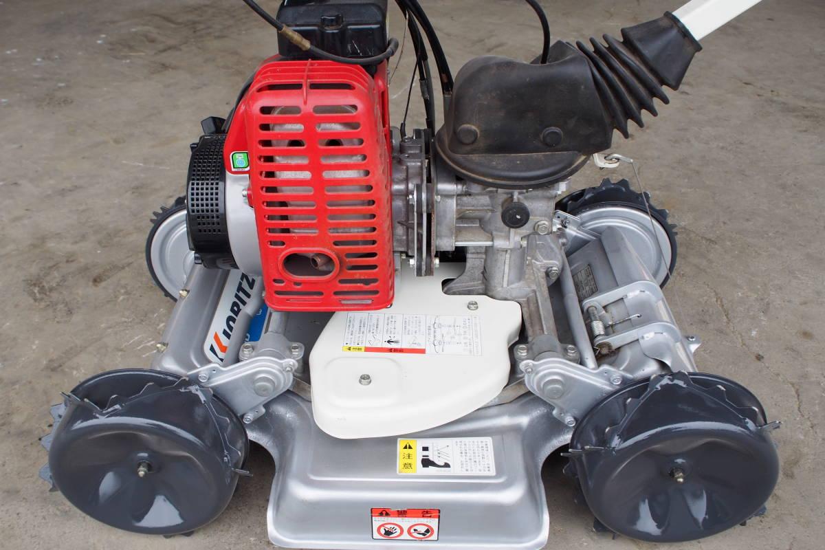 中古 共立 自走式傾斜地草刈機 4WD スパイダーモアー AZ851 整備済 取説付_画像1