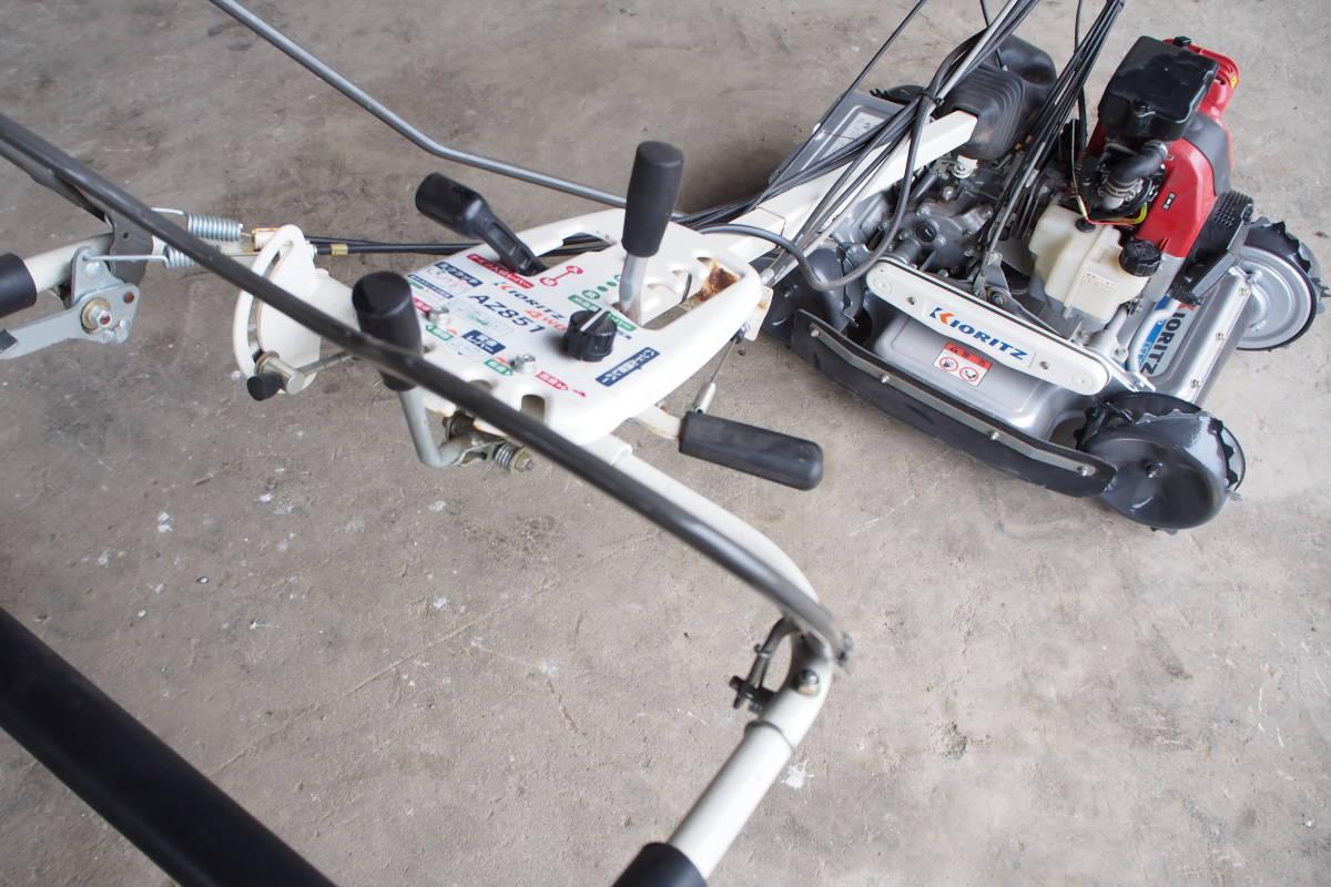 中古 共立 自走式傾斜地草刈機 4WD スパイダーモアー AZ851 整備済 取説付_画像7
