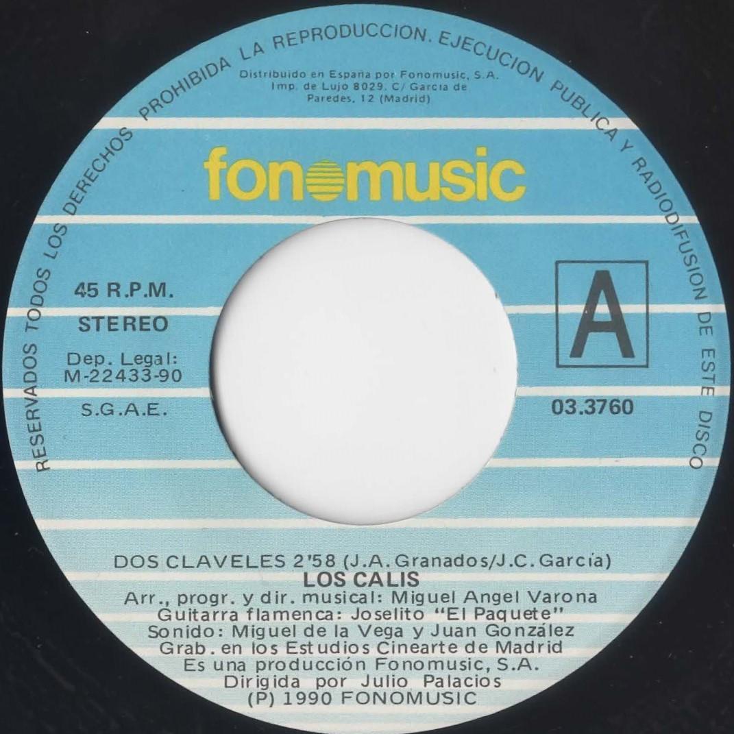 ♪試聴 7'♪Los Calis / Dos Claveles_画像3