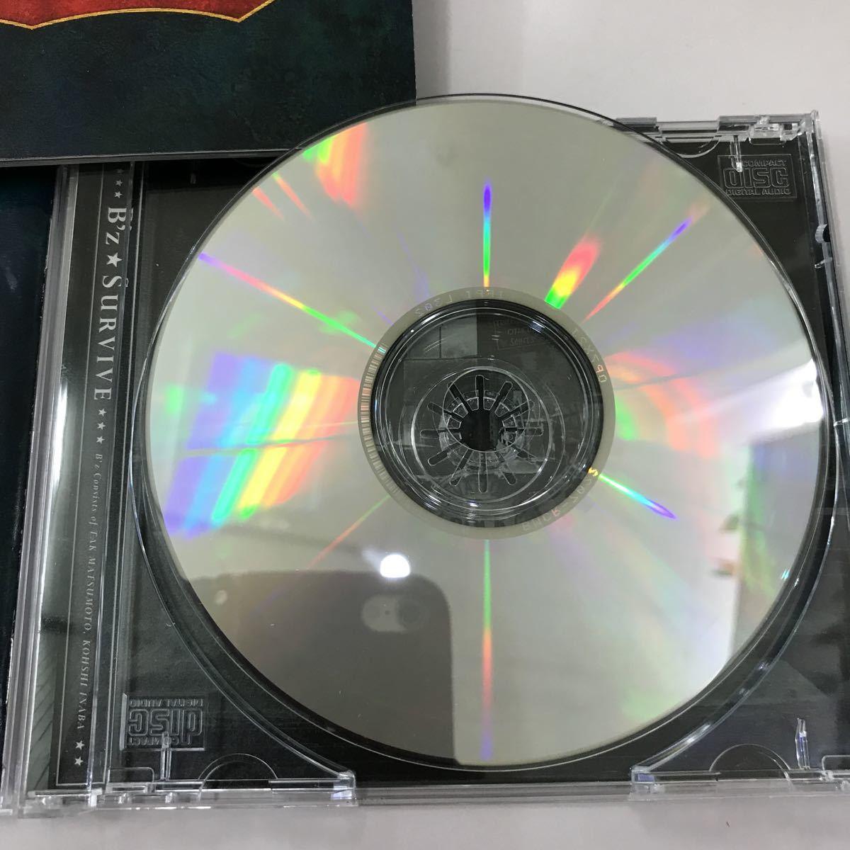 CD 中古☆【邦楽】B'z SURVIVE