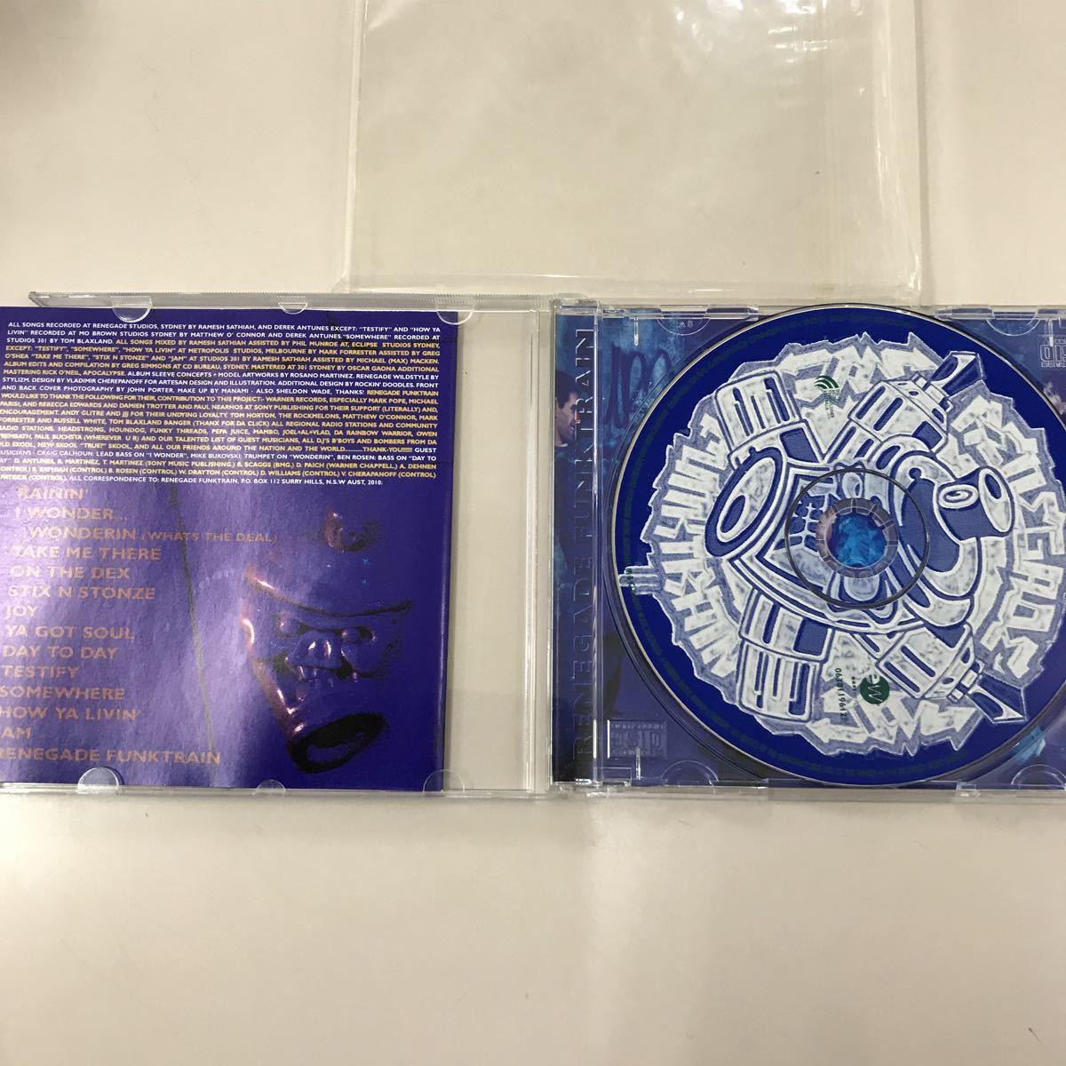 CD 中古☆【洋楽】RENEGADE FUNKTRAIN