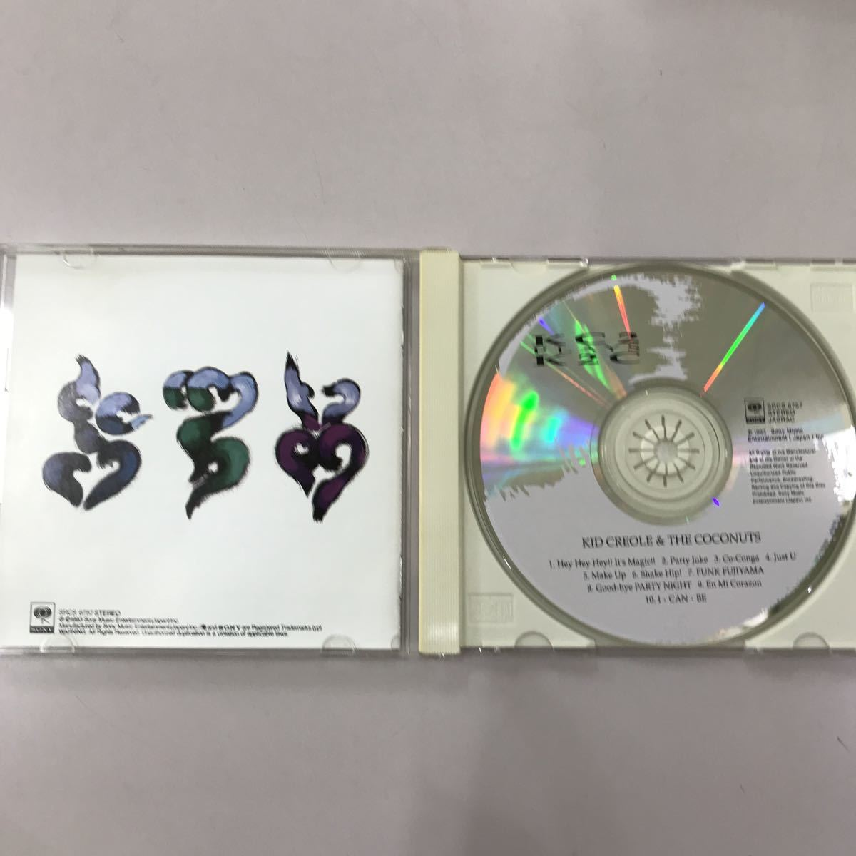 CD 中古☆【邦楽】キッド クレオール&ザ ココナッツ