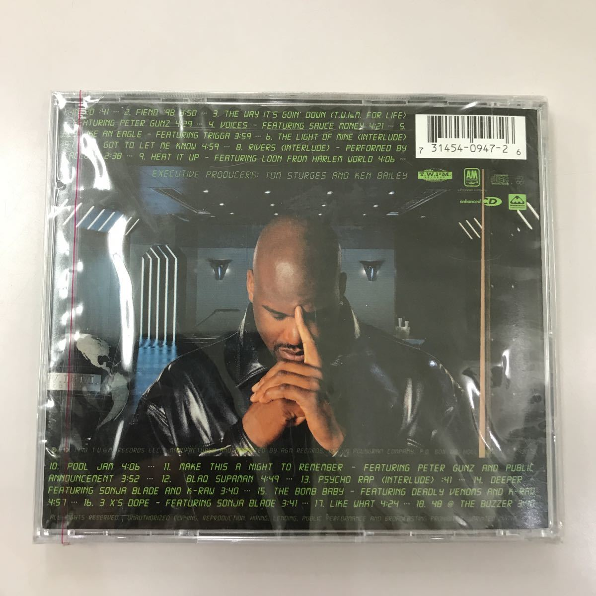 CD 未開封【洋楽】長期保存品 SHAQUILLE O'NEAL