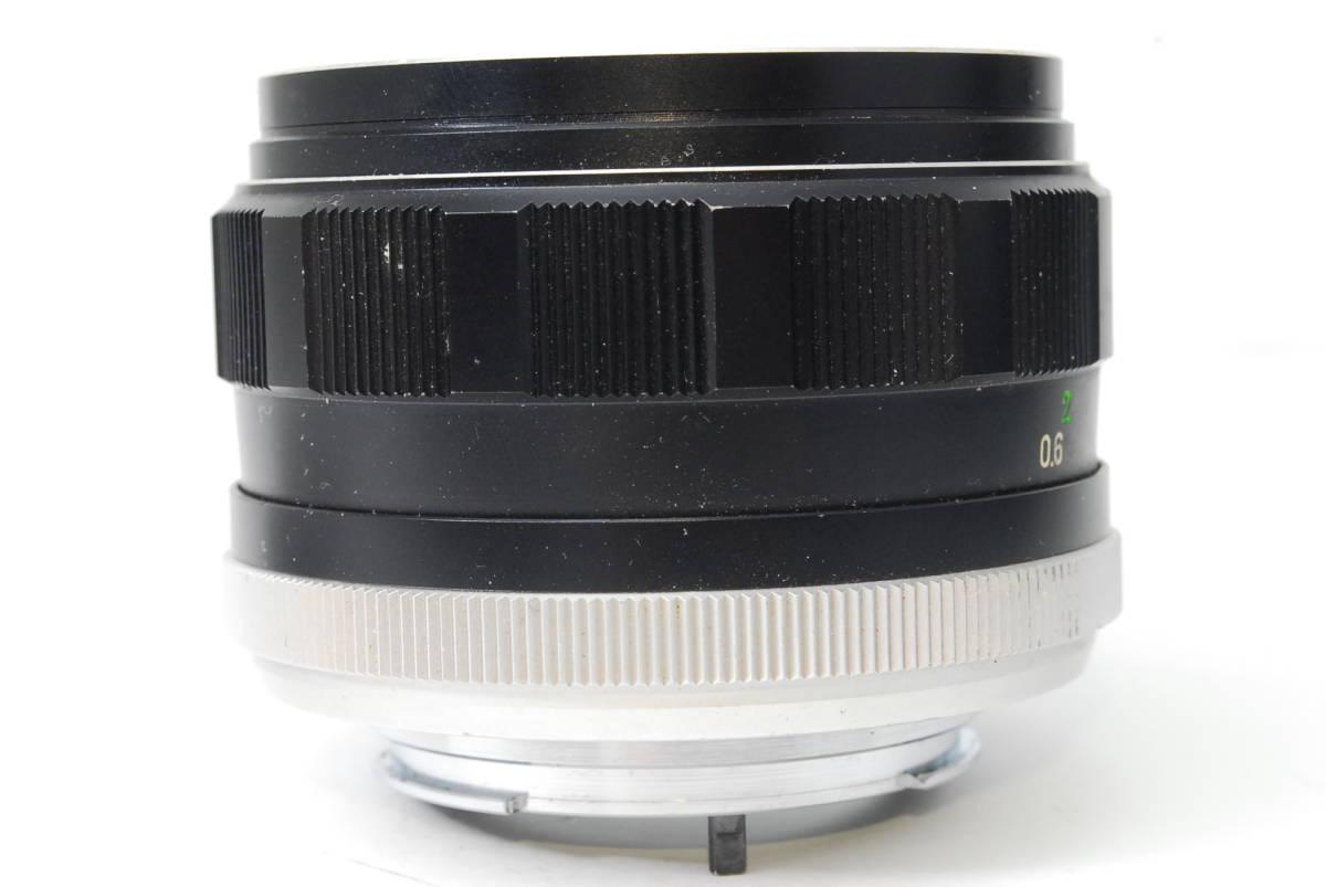 訳ありレンズ ミノルタ MINOLTA MC ROKKOR-PF 58mm F1.4 【5056884】 ♯8166_画像6