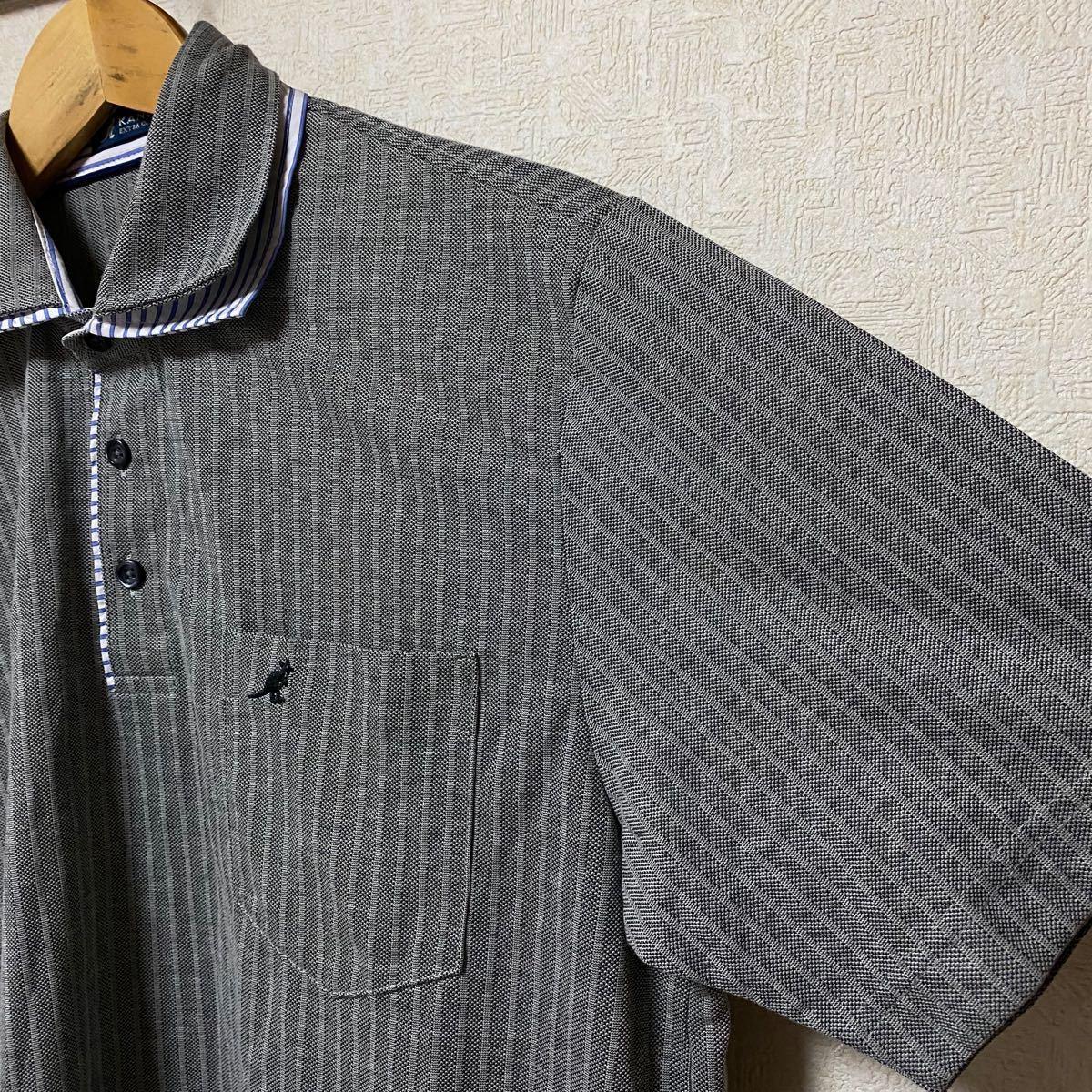 KANGOL カンゴール ポロシャツ グレー