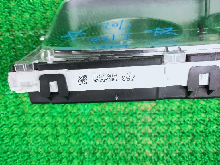 ムーブ カスタム L150S L152S L160S 純正 タコ付 速度計 スピードメーター パネル メーターパネル_画像4