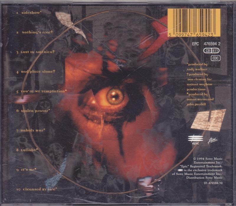 ALICE COOPER / THE LAST TEMPTATION /EU盤/中古CD!! 商品管理番号:44495_画像2