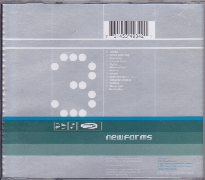 Roni Size / Reprazent / New Forms /EU盤/中古CD!! 商品管理番号:44494_画像2