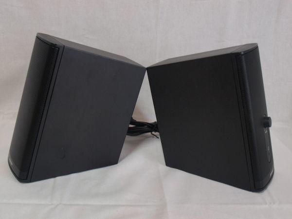 1円BOSE Companion2 Series IIマルチメディアスピーカー黒コンパニオン2/ボーズ/パソコン用/PC/小型/コンパクト/アンプ内蔵/ジャンク/ペア_画像5