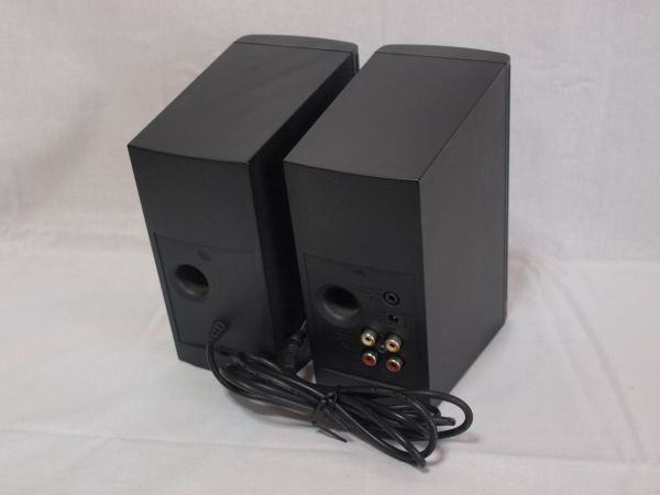 1円BOSE Companion2 Series IIマルチメディアスピーカー黒コンパニオン2/ボーズ/パソコン用/PC/小型/コンパクト/アンプ内蔵/ジャンク/ペア_画像2