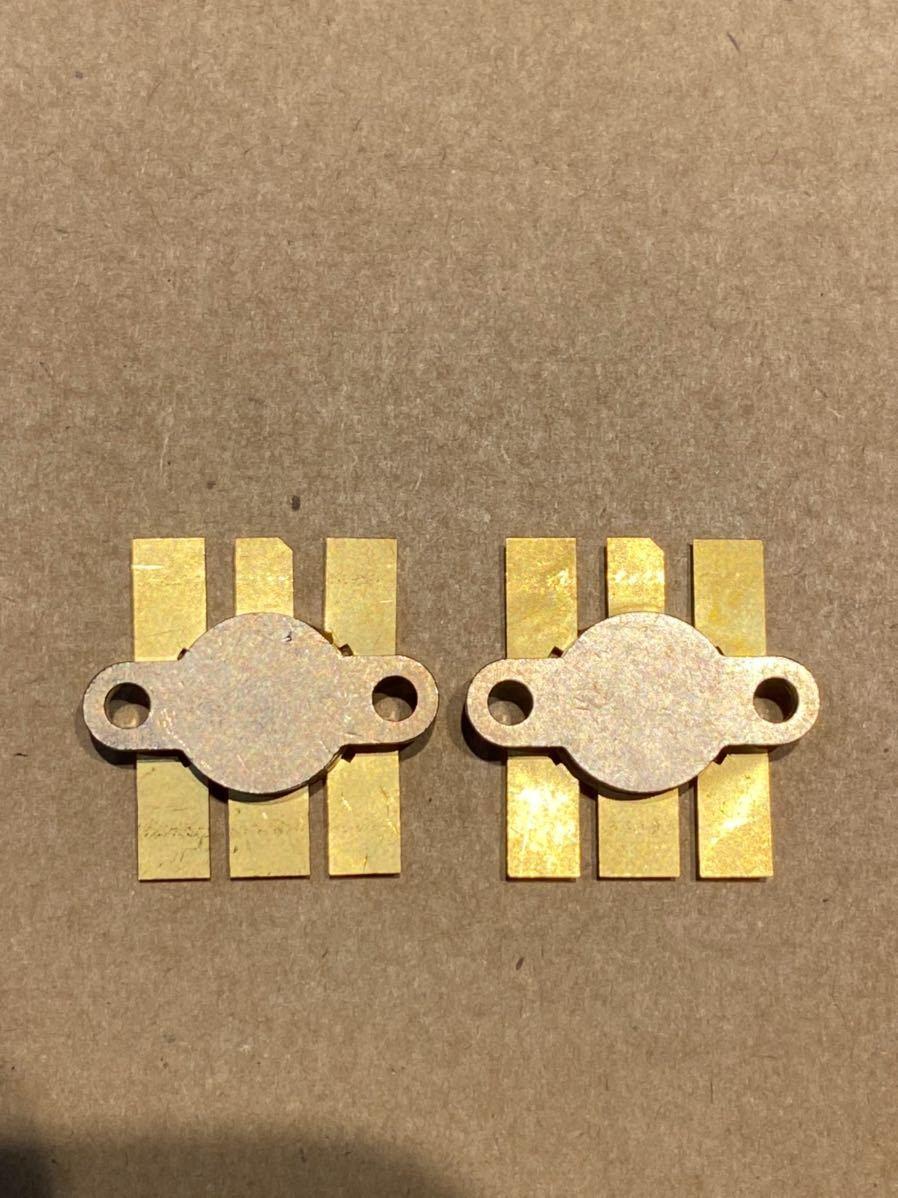 日立 2SK410 リニアアンプ用 パワーMOS FET 2個セット 未使用品  ic部品_画像2