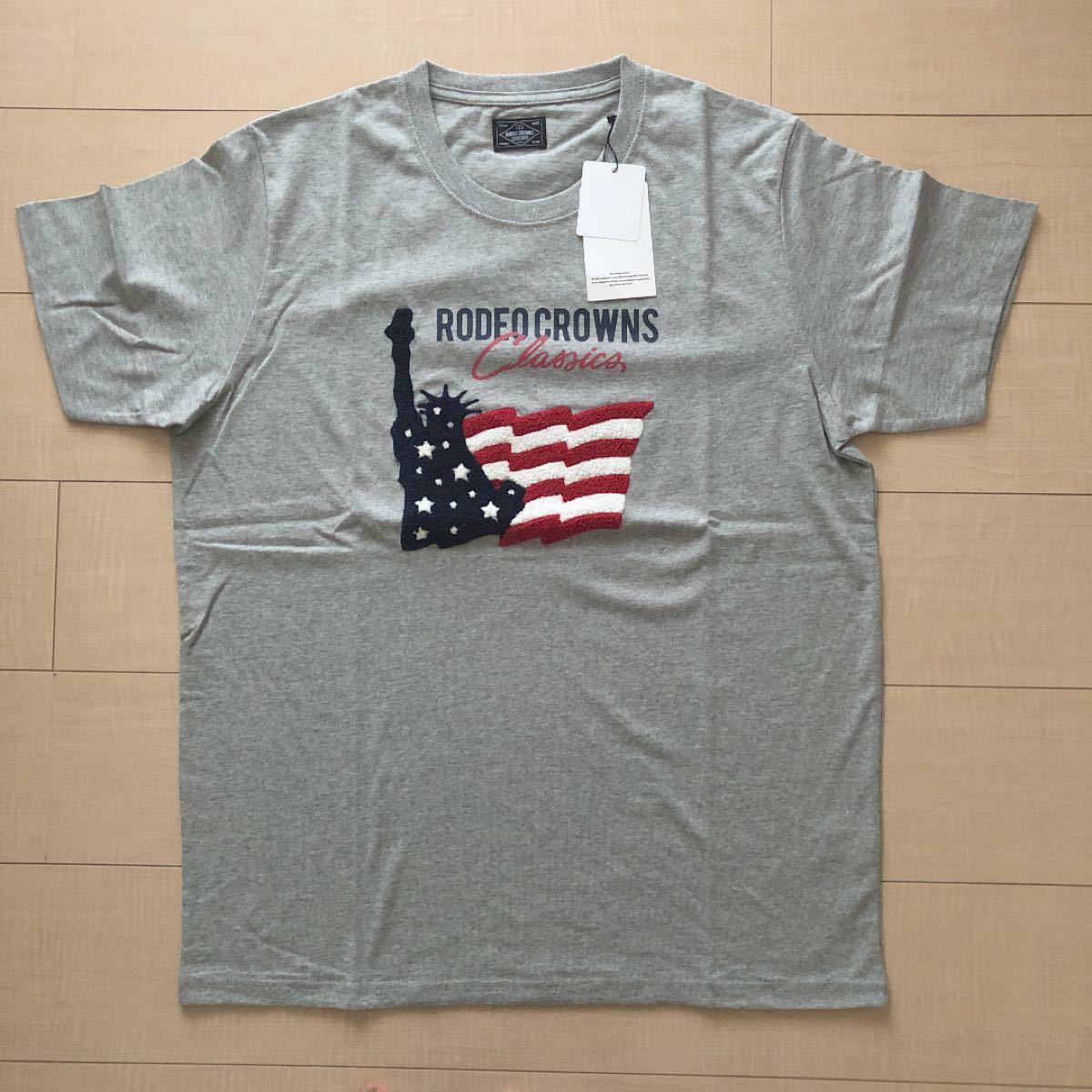 ロデオ メンズTシャツ グレー