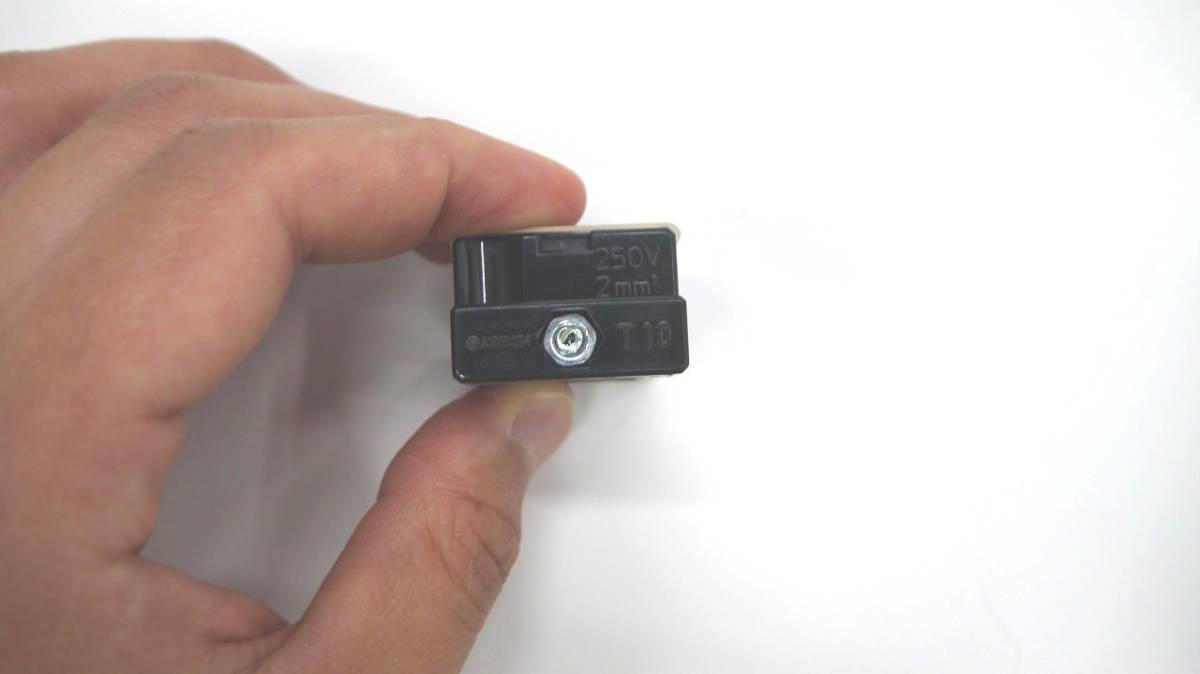 未使用品 春日電機 KASUGA (パトライト)  組端子台 T10 02 2極 20個+1個 合計21個 一式_画像2