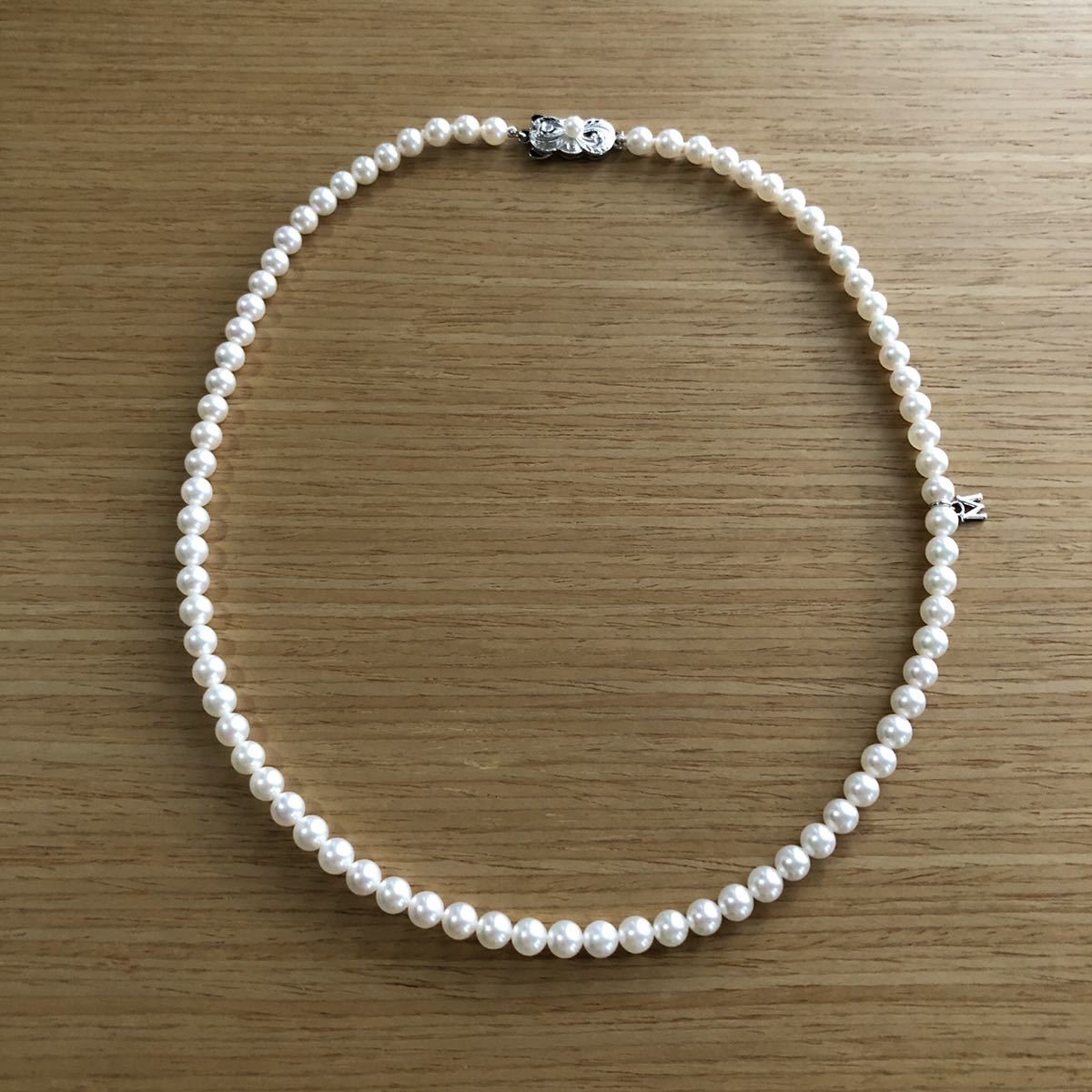 MIKIMOTO ミキモト アコヤパールネックレス SIL 5mm_画像4