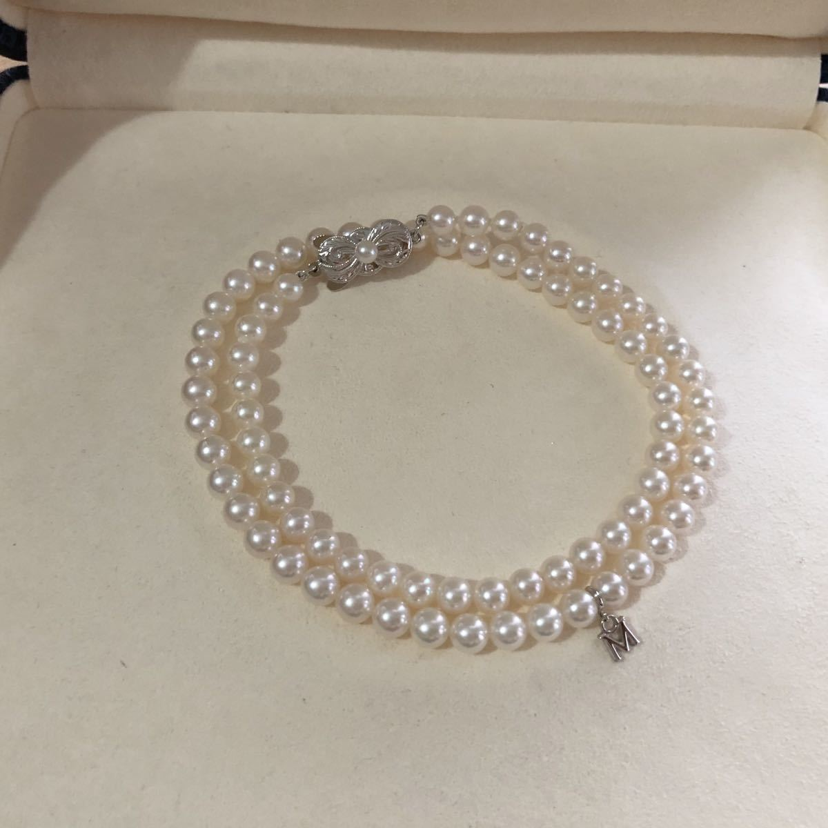 MIKIMOTO ミキモト アコヤパールネックレス SIL 5mm_画像2