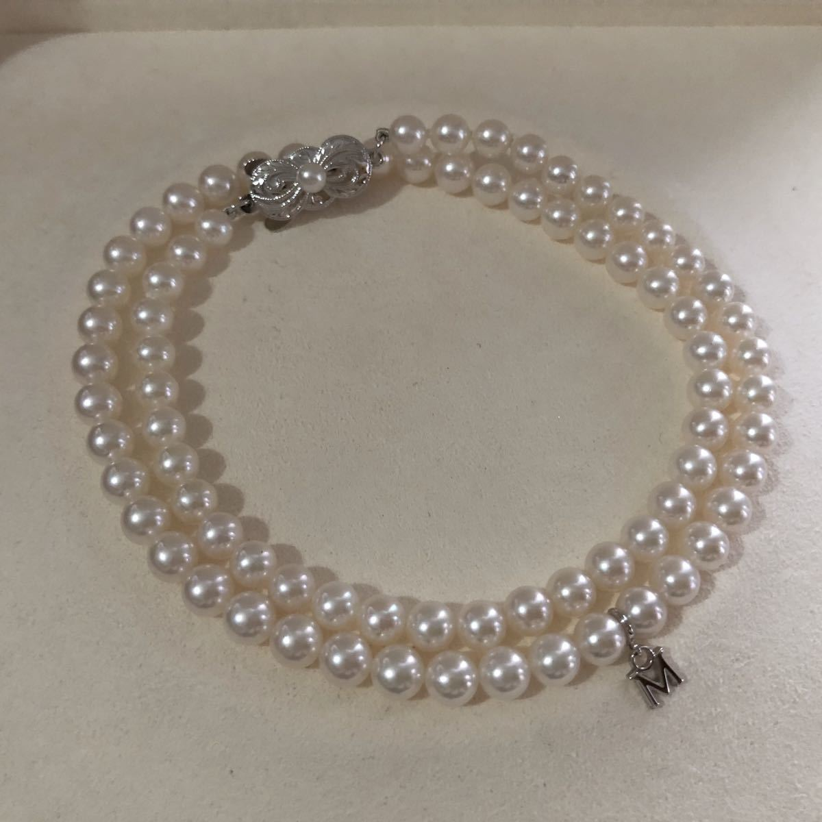 MIKIMOTO ミキモト アコヤパールネックレス SIL 5mm_画像3