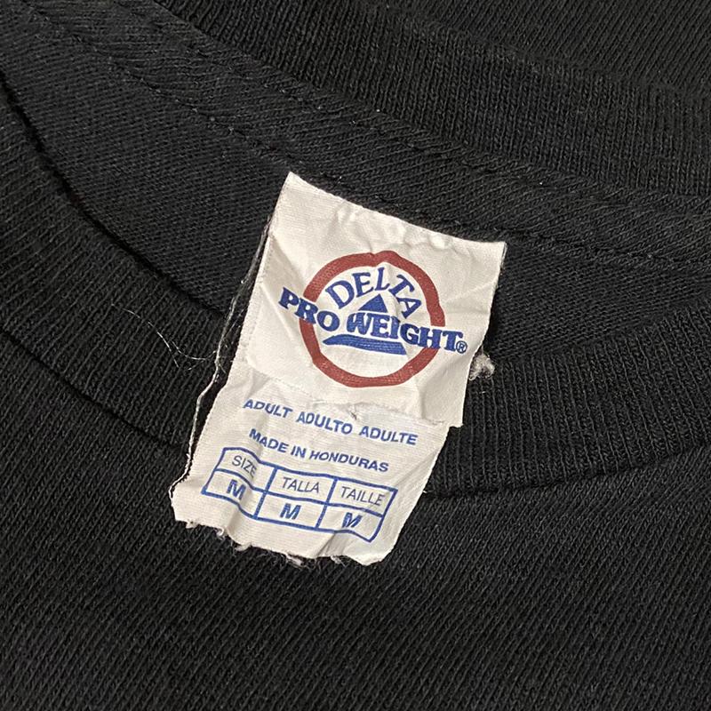 SLAYER スレイヤー スラッシュメタル ロック バンドTシャツ 00s Metal 黒ブラック M レア SEASONS IN THE ABYSS ビンテージ ホンジュラス製_画像4