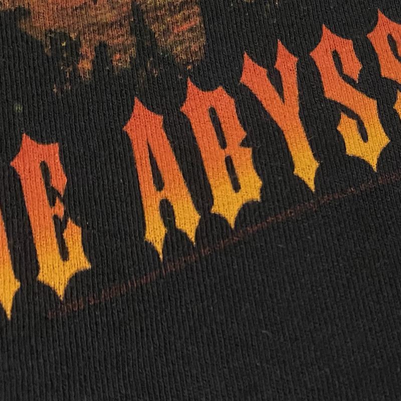SLAYER スレイヤー スラッシュメタル ロック バンドTシャツ 00s Metal 黒ブラック M レア SEASONS IN THE ABYSS ビンテージ ホンジュラス製_画像7