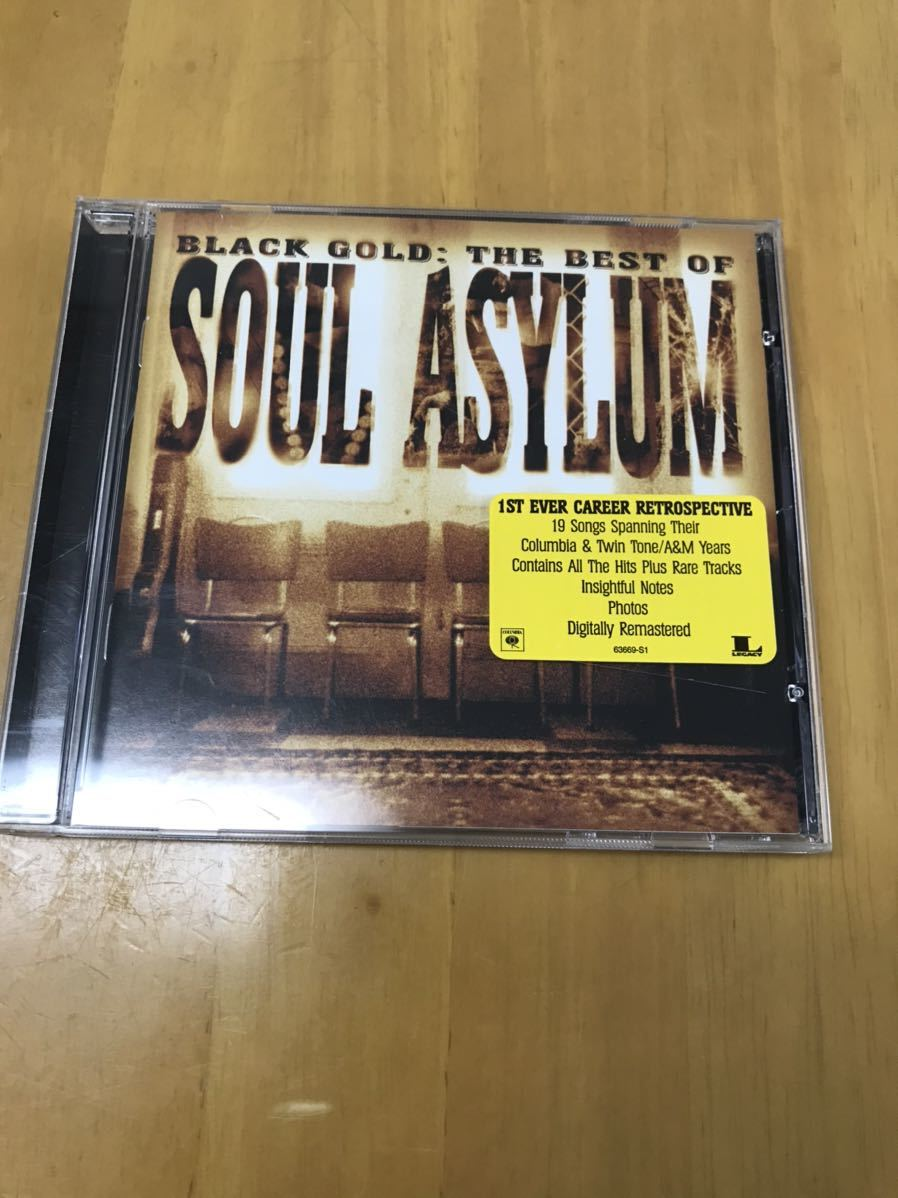 SOUL ASYLUM / BLACK GOLD : THE BEST OF 輸入盤CD ソウル・アサイラム_画像1