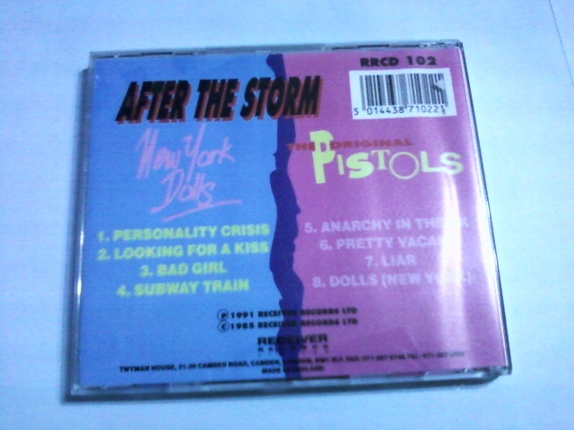 New York Dolls & The Original Pistols - After The Storm☆Sex Pistols Johnny Thunders & The Heartbreakers Saints Damned Buzzcocks