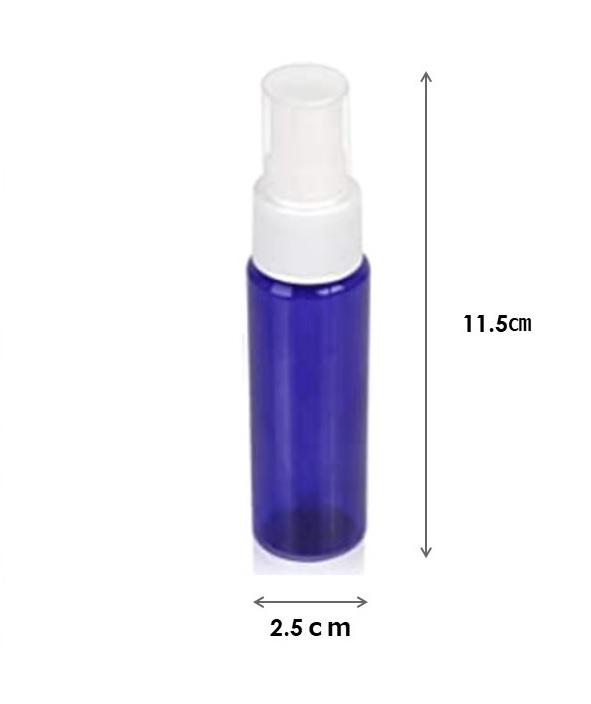 弱酸性次亜塩素酸水 顆粒 50ppmの使用で50L分 + 30mlアルコール対応遮光性スプレーボトル2本_画像4