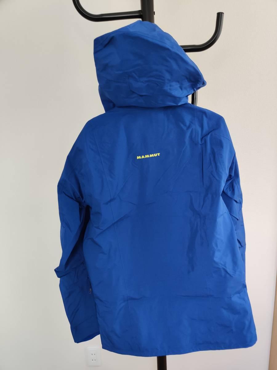 mammut alvier hs hooded jacket ゴアテックスプロ